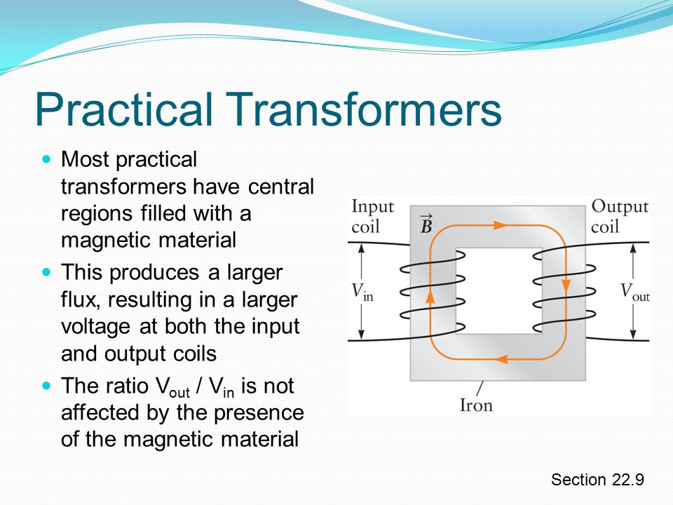 practical applications of transformer The relationship between electromotive force or voltage and magnetic flux was formalized in an equation now referred to as faraday's law of induction.