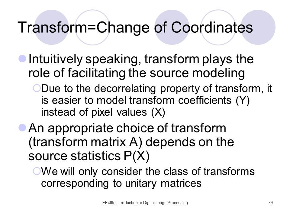 Transform=Change of Coordinates