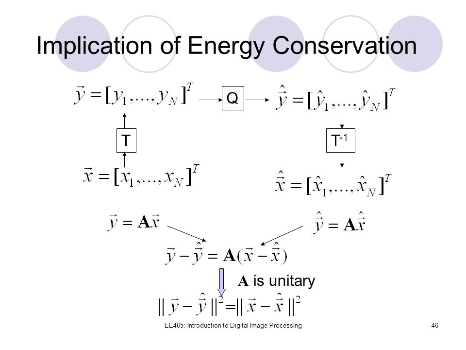 Implication of Energy Conservation