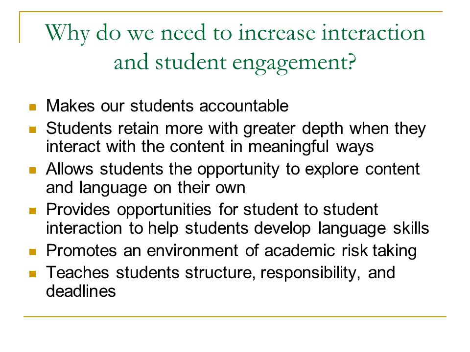 Classroom Engagement Ideas ~ Christine prosser bob efken ppt download