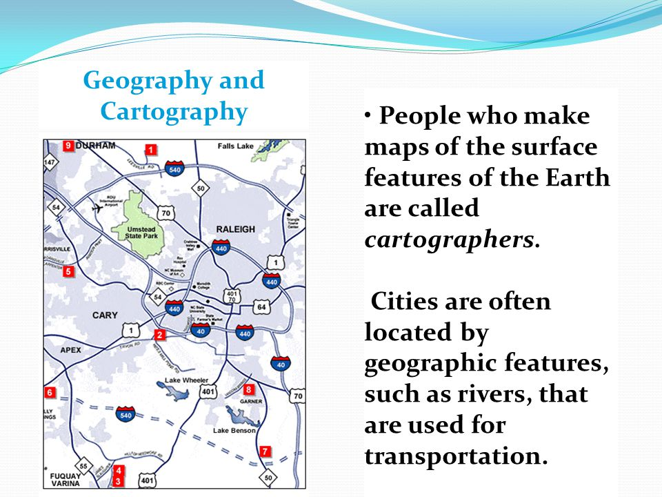 Geography and Cartography