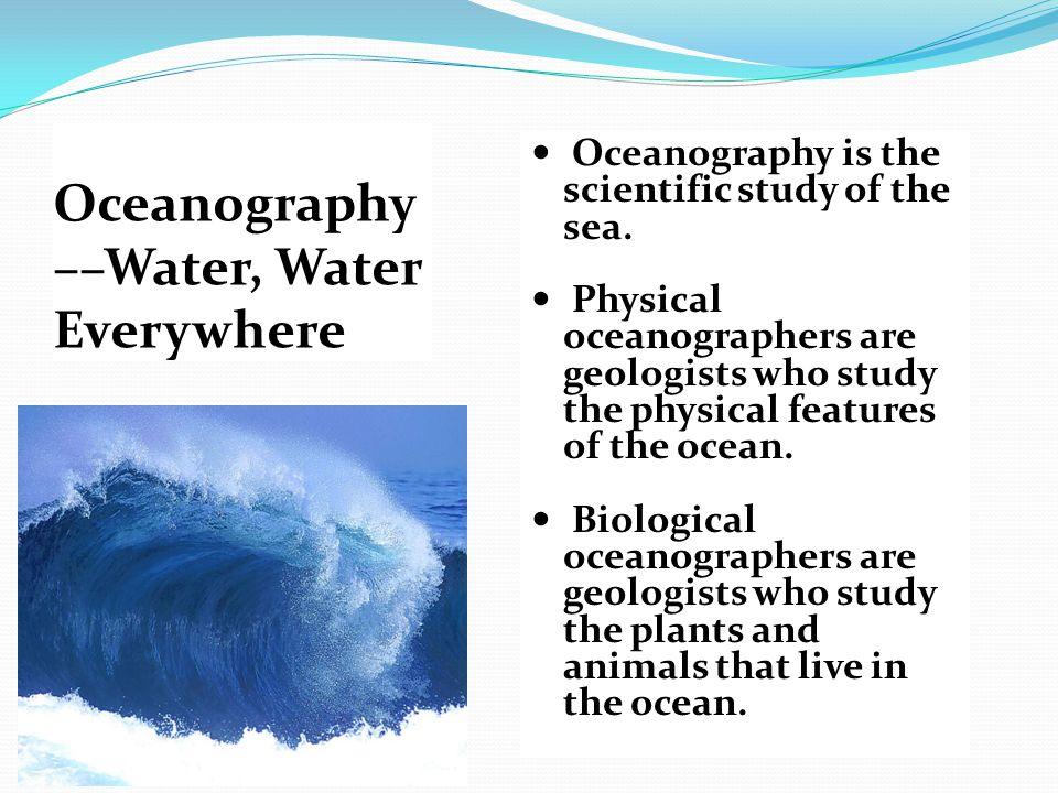 Oceanography - Wikipedia