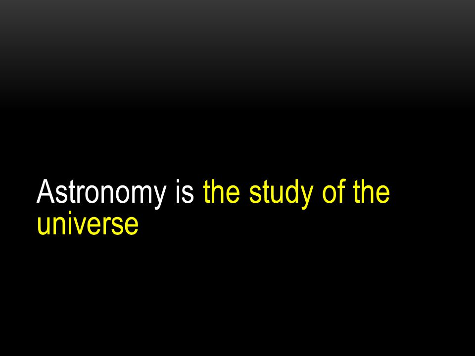 the science of astronomy Astronomy - the story behind the science.