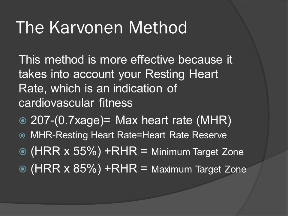 Heart Rate Target Zone Ppt Video Online Download