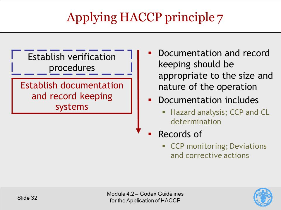 Codex Guidelines for the Application of HACCP - ppt video ...
