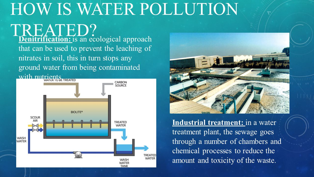 HOW IS WATER POLLUTION TREATED