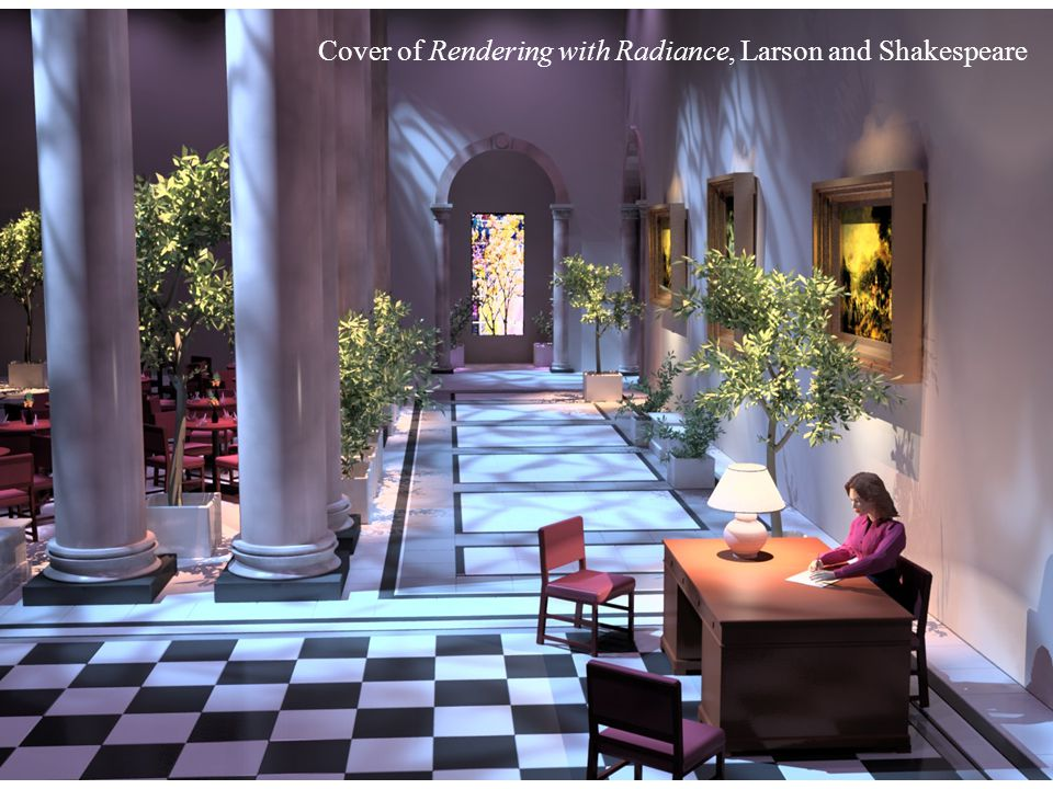 Cover of Rendering with Radiance, Larson and Shakespeare