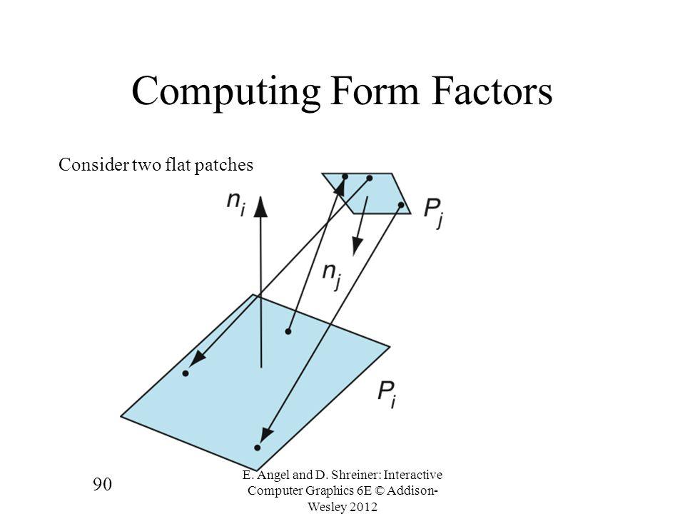 Computing Form Factors