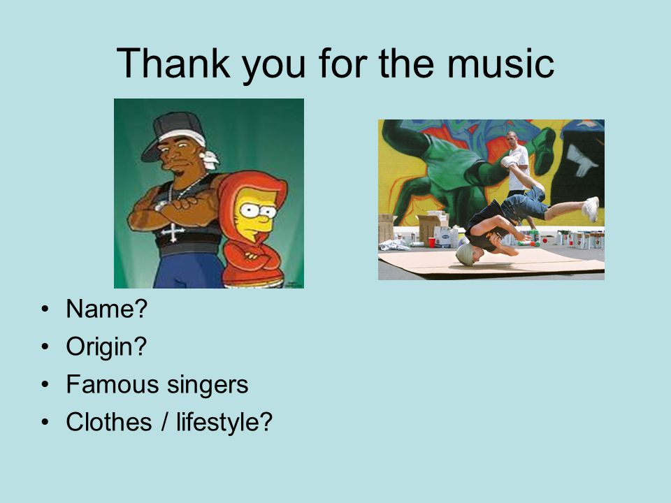 Thank you for the music Name Origin Famous singers
