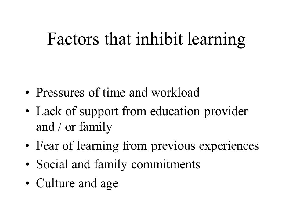 factors that inhibit and support communication Dignity factors - communication  but it is important to ensure that they receive the appropriate support and training to ensure that their communication skills.