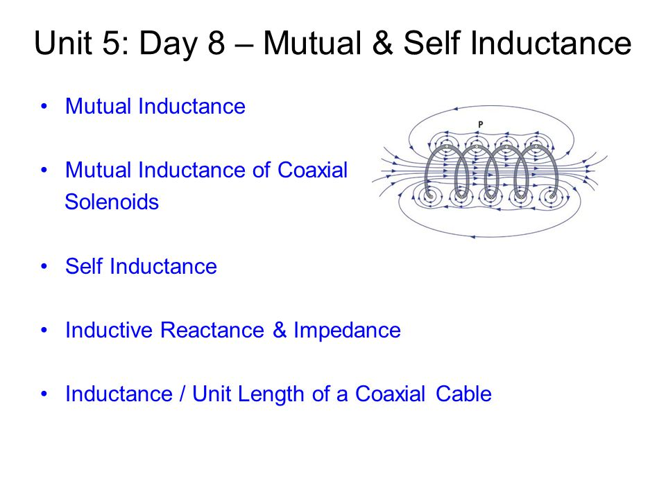 what is the difference between mutual induction and self induction