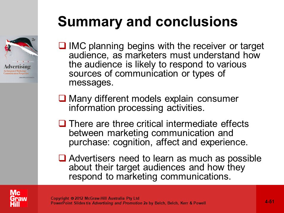 conclusion marketing communication View and download integrated marketing communication essays examples also discover topics, titles, outlines, thesis statements, and conclusions for your integrated marketing communication essay.