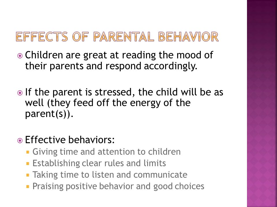 Negative Psychological Effects of a Single Parent Family