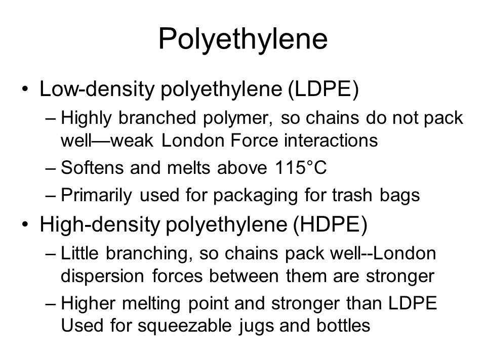 Low Density Polyethylene Ldpe : Alkenes and cycloalkenes ppt video online download