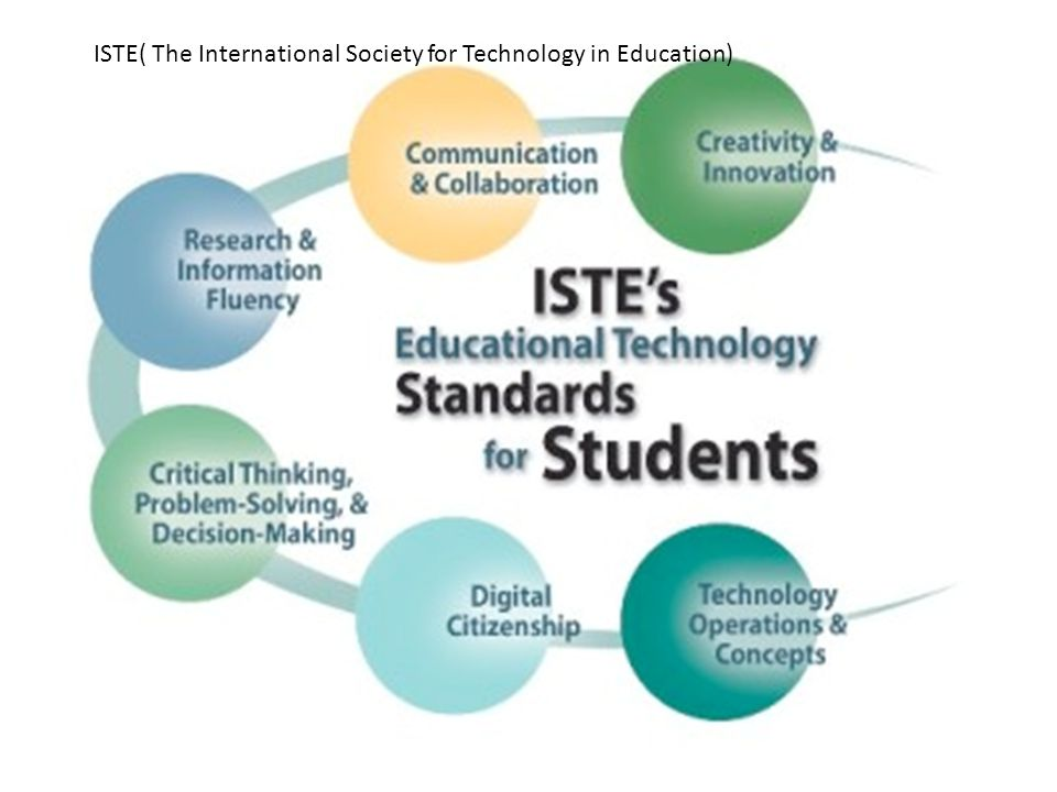 ISTE( The International Society for Technology in Education)