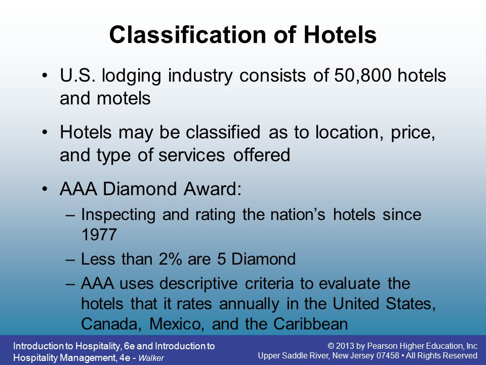 Introduction to hospitality 6e ppt video online download 13 classification of hotels fandeluxe Gallery
