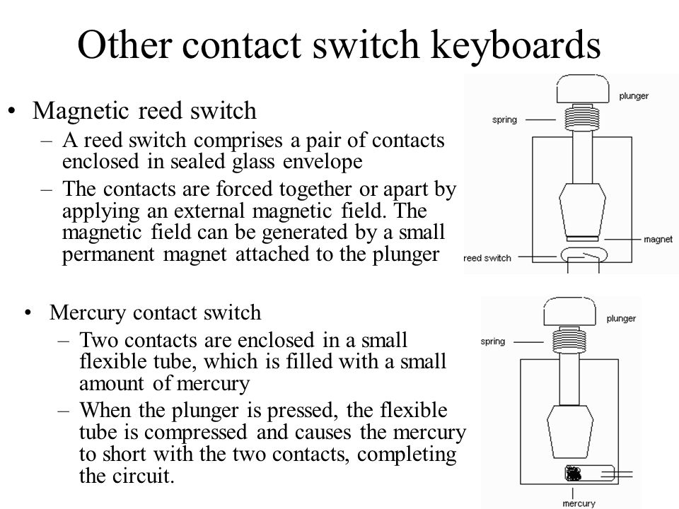 plunger contact switch