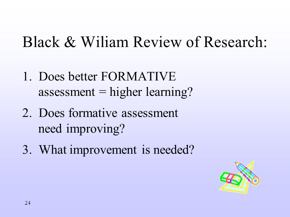 Formative assessment research paper