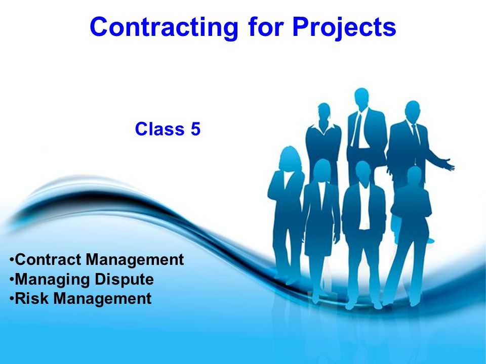 Contract Management Managing Dispute Risk Management - Ppt Download