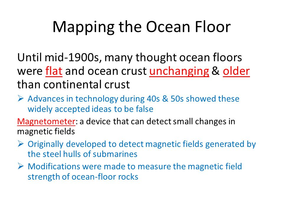 172 Seafloor Spreading Objectives ppt video online download – Mapping the Ocean Floor Worksheet