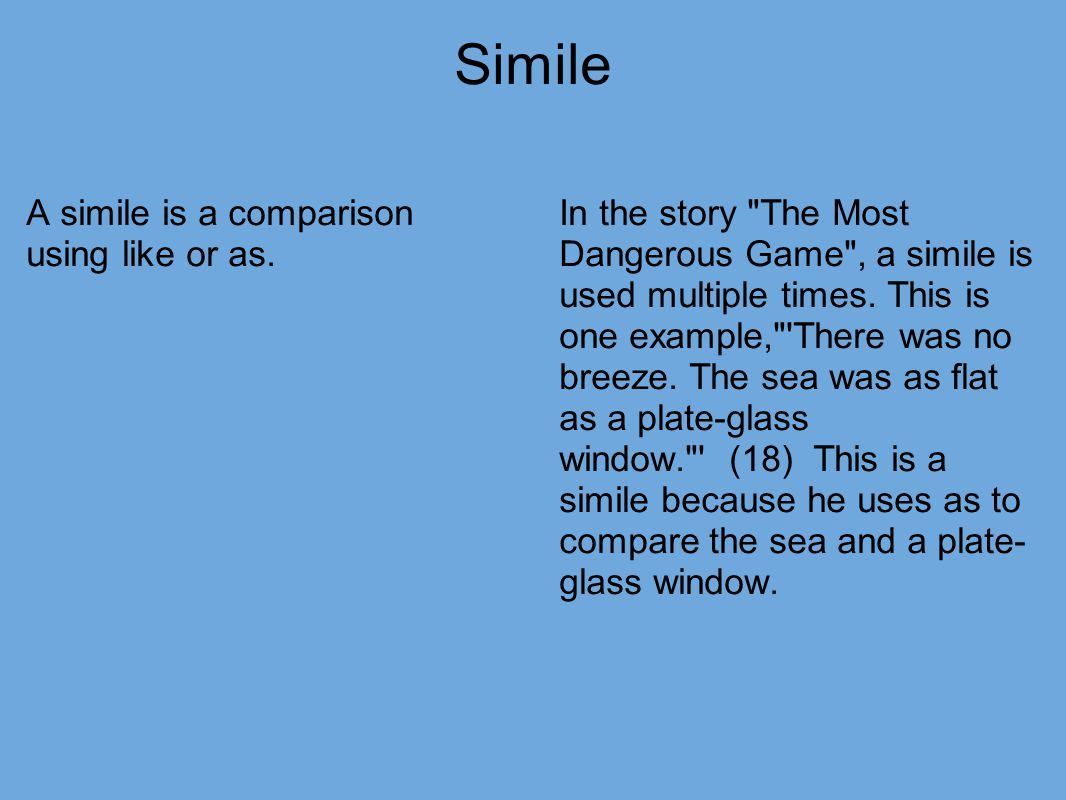 examples of simile in the boy at the window Simile=smetaphor=mpersonification=palliteration=a simile, metaphor and personification test 30 questions the rain was a curtain of water on the window 8.