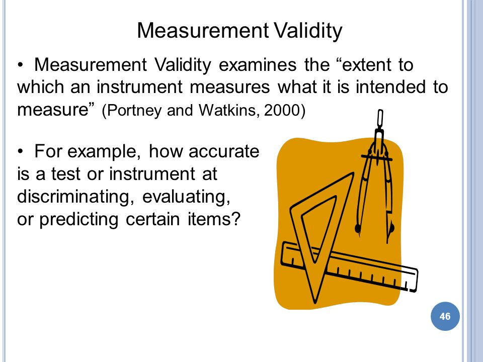 Examples Of Measurement Instruments : Jessica lambeth mpt the basics evidence based practice