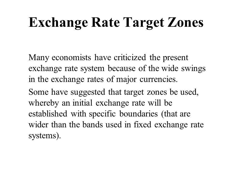 how exchange rate targeting by the A quarter century of inflation targeting & exchange rate pass-through: evidence from the first three movers muhammad ali nasir1 leeds beckett university, united kingdom.