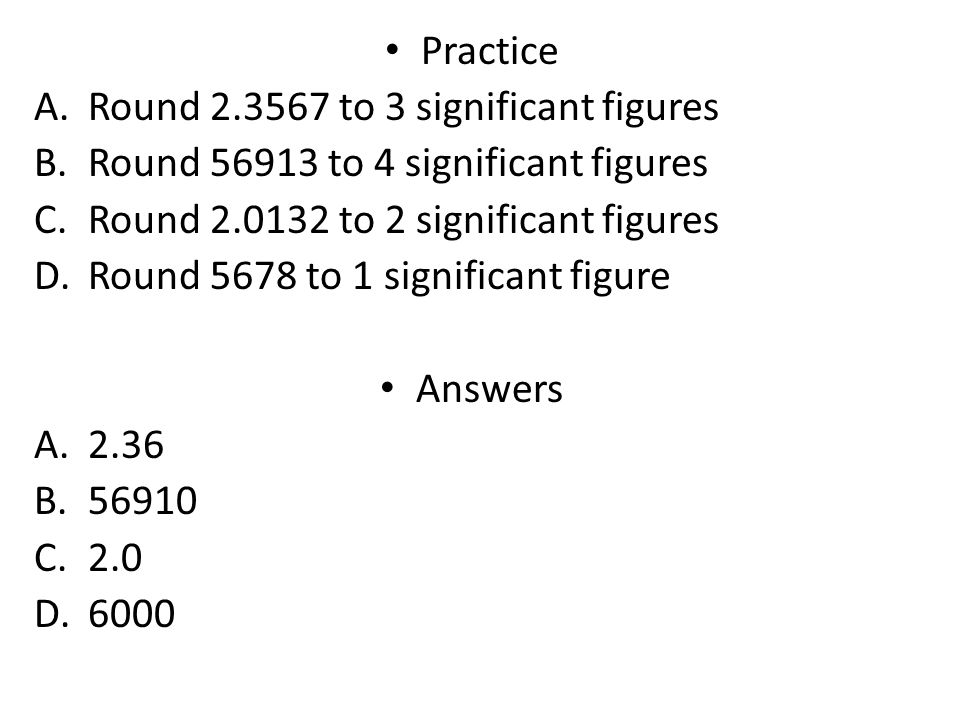 how to round an answer to 3 significant figures