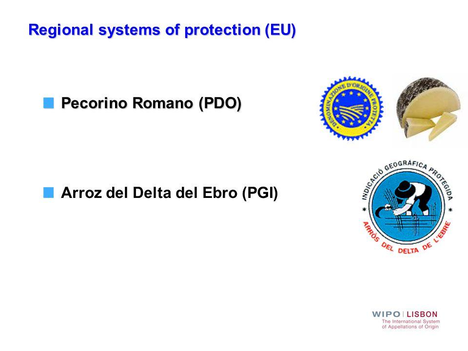 Regional trademark systems