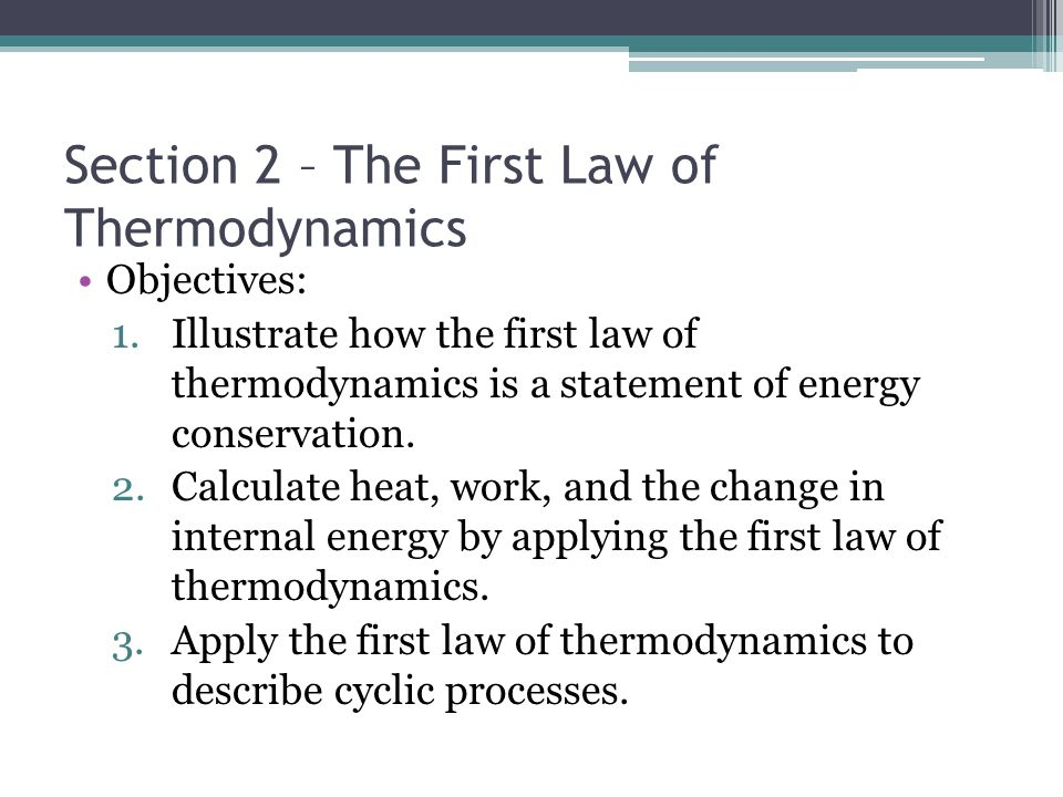 write an essay on laws of thermodynamics The first law of thermodynamics essay the first law of thermodynamics and over other 29,000+ free term papers, essays and research papers examples are available on the website.