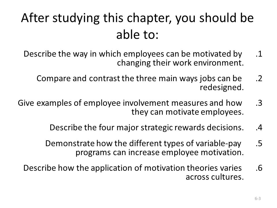 a study of the different types of employee motivation To achieve high goals and strategies organization need motivated employee   there are two types of motivations, one is internal desire and the other one is   learning some employees like to develop their skills so for their motivations.
