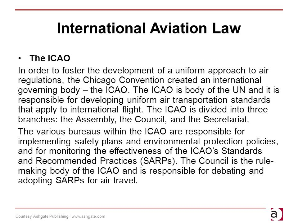 international air law and icao pdf