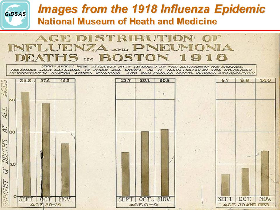 An analysis of the effects of the flu pandemic in 1918