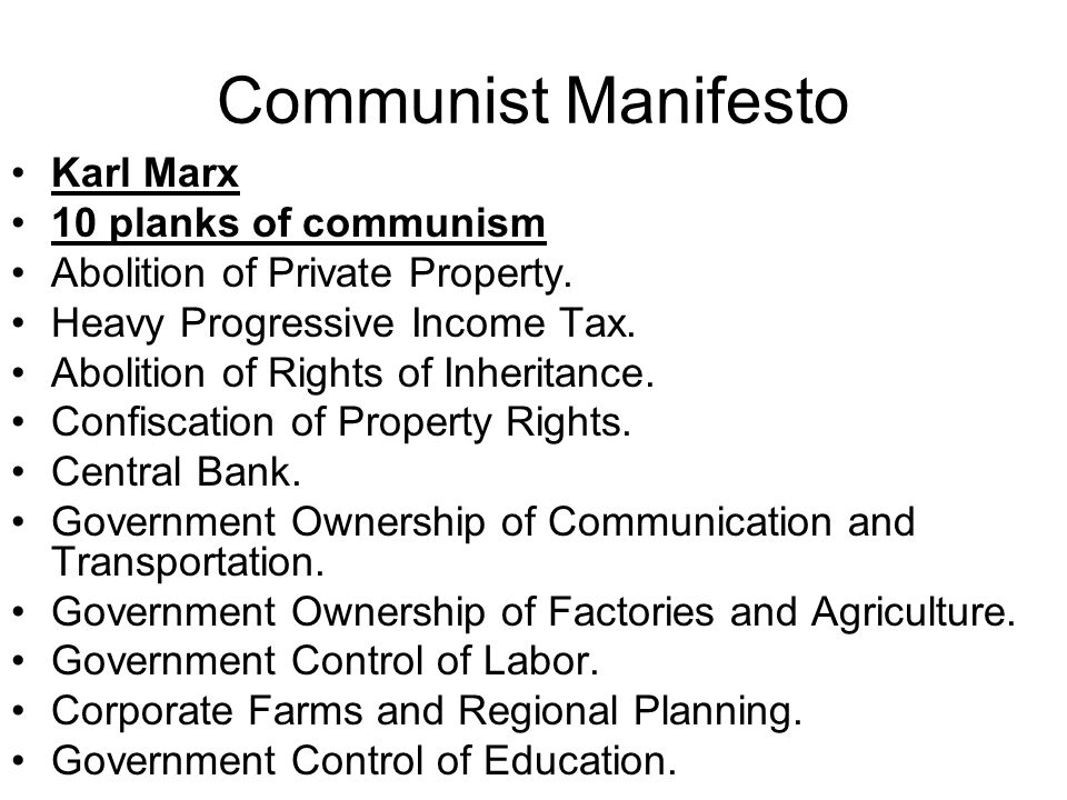Private Ownership And Control Of Property