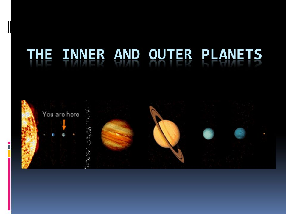 planets inner and outer planets - photo #4
