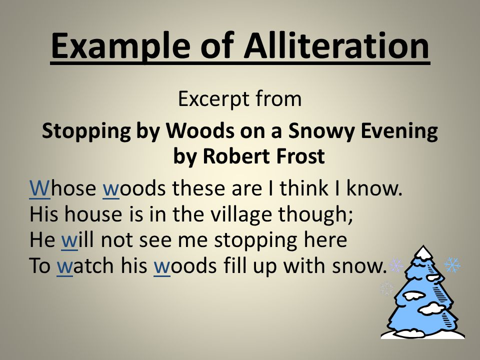 "an analysis of stopping by the woods on a snowy evening by robert frost Free essay: an analysis of stopping by woods on a snowy evening the images in the poem ""stopping by woods on a snowy evening"" by robert frost."