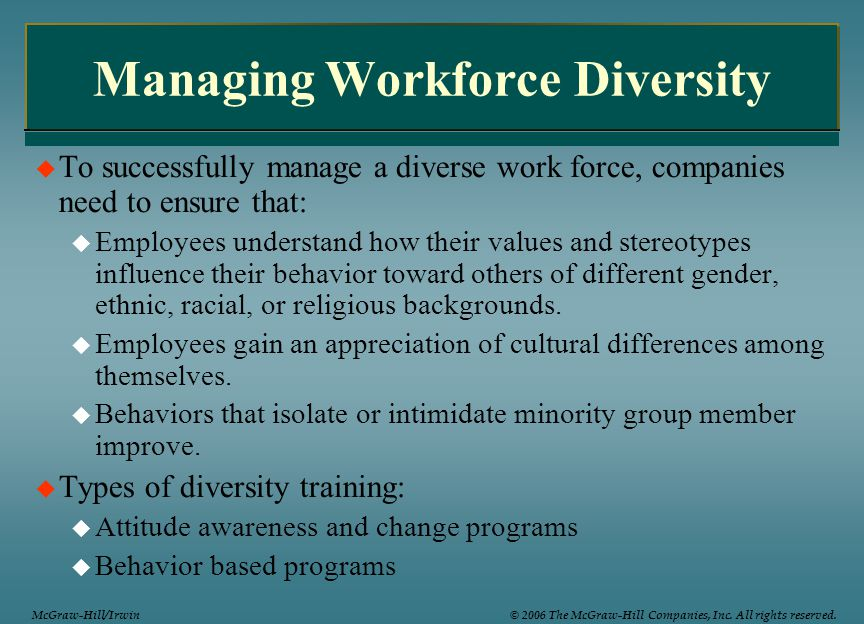 dissertation proposal on managing diversity of workforce Writepass - essay writing - dissertation topics [toc]a brief synopsisrationale of the research research gap research questions objectives dependent variableindependent variableintervening variable hypotheses referencesrelated a brief synopsis the focus of this research is to determine the impact of workforce diversity on employee.