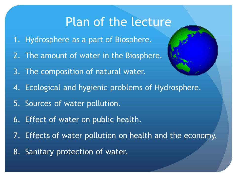 hydrosphere life and water It is so easy sometimes to take our hydrosphere for granted and we seldom take the time to really think about the role that this part of the planet plays in keeping us alive below are just some of the important functions of water in the hydrosphere: water is a part of living cells each cell in a.