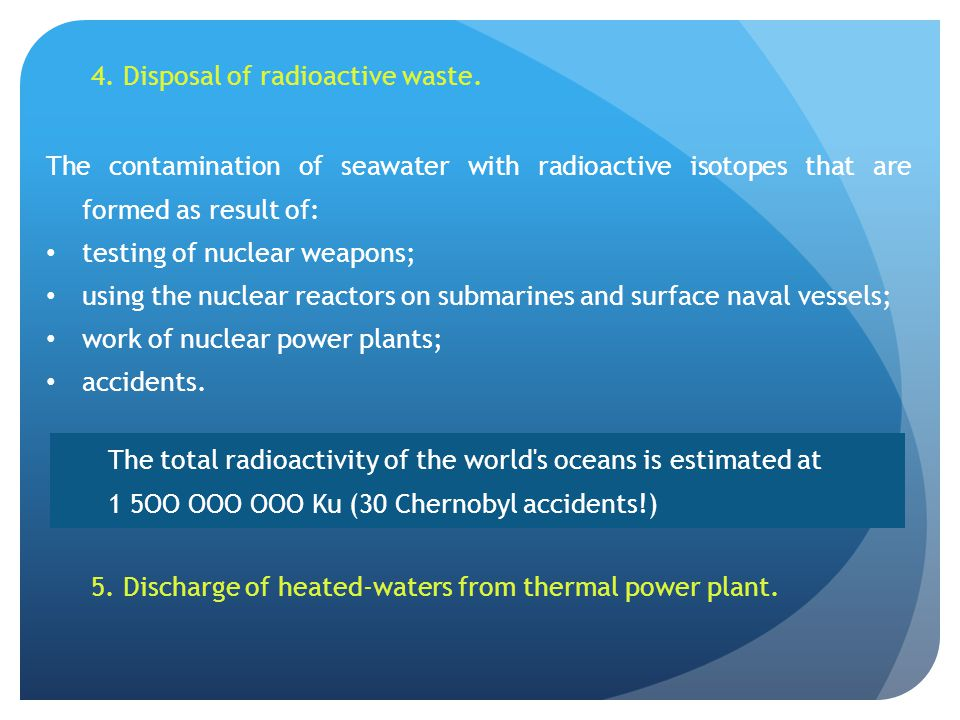 the environmental concerns regarding the disposal of nuclear waste Nuclear power and the environment waste from a nuclear plant is primarily a solid waste, spent fuel then there is diminished policy importance regarding the environmental gains of replacing fossil fuels with nuclear power.