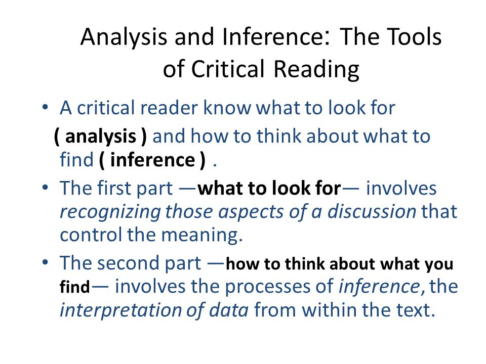 the reader critical study A 'critical review' is a complete type of text, discussing one particular article or   to improve your reading confidence and efficiency, visit our pages on reading.