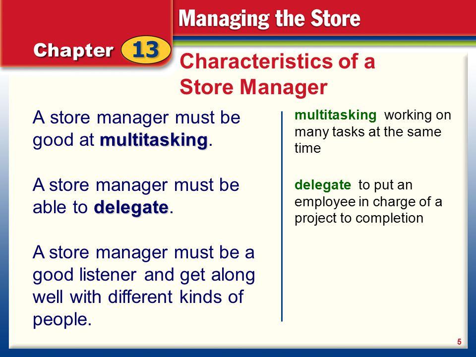 characteristics of a good manager pdf