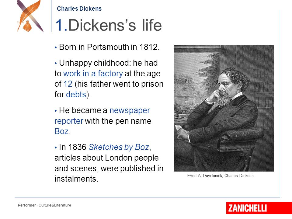 a biography of charles dickens born in 1812 Read a biography about the life of charles dickens the victorian  he was born in portsmouth on 7 february 1812,  charles was sent to work in.