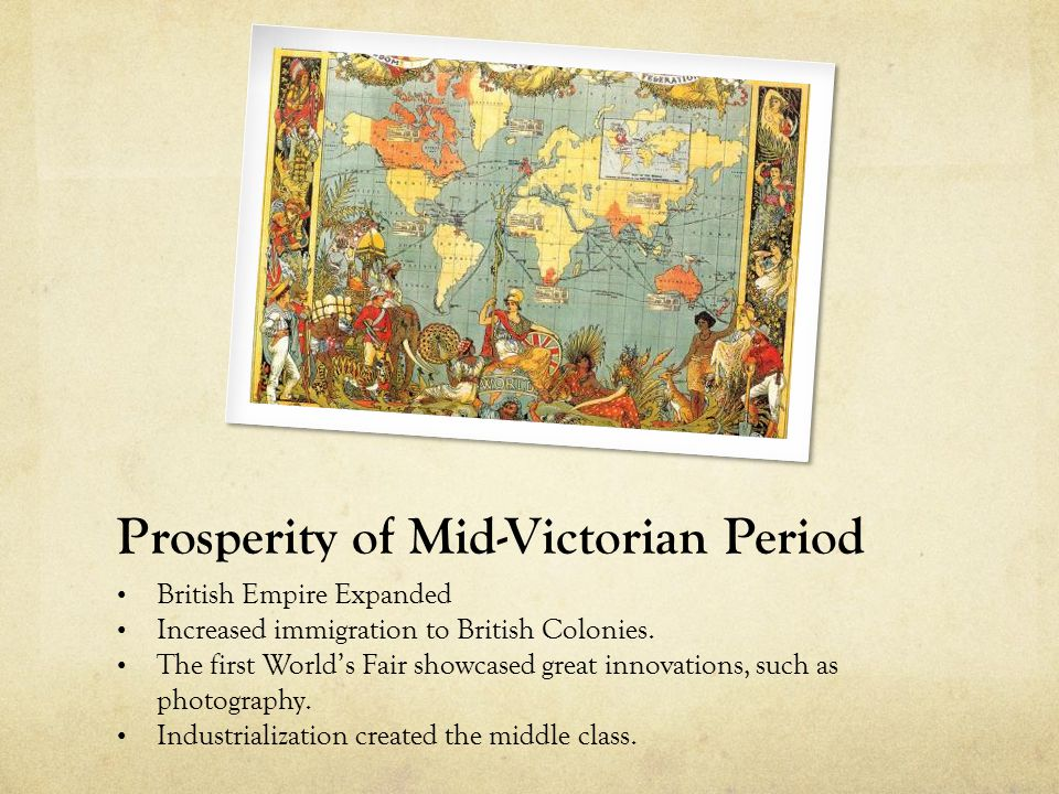 the social classes of mid victorian england Best answer: prior to the industrial revolution, britain had a very rigid social structure consisting of three distinct classes: the church and aristocracy, the middle class, and the working poorer class the top class was known as the aristocracy it included the church and nobility and had great power and wealth this class consisted of about two percent of the population, who were born into.