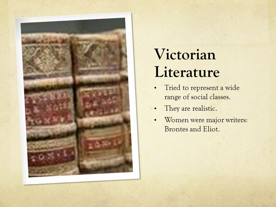 class in victorian literature The victorian era • the dates of the victorian era (1836-1901) coincide with queen victoria's ascension to the throne and her death.