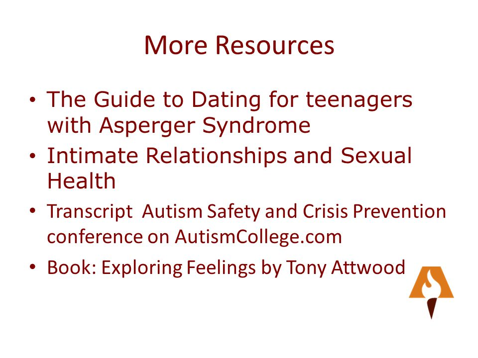 dating guys with aspergers