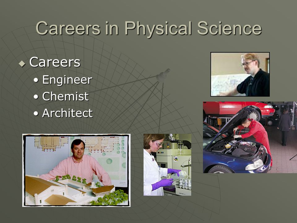 Careers in Physical Science