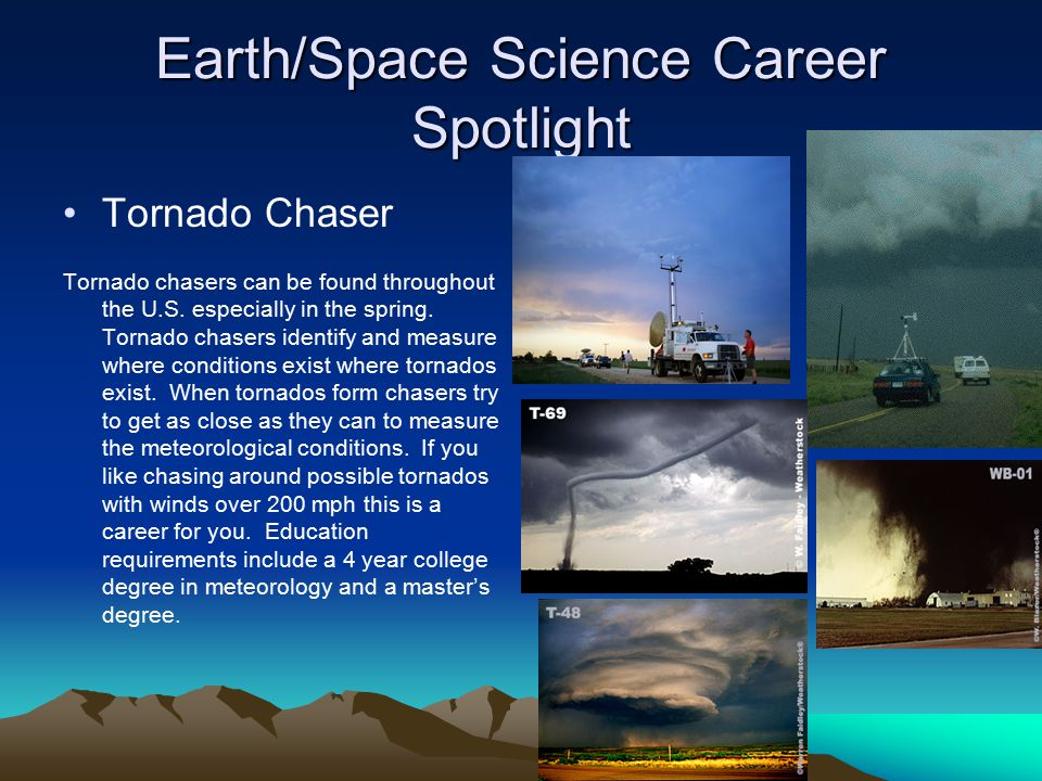 Earth/Space Science Career Spotlight