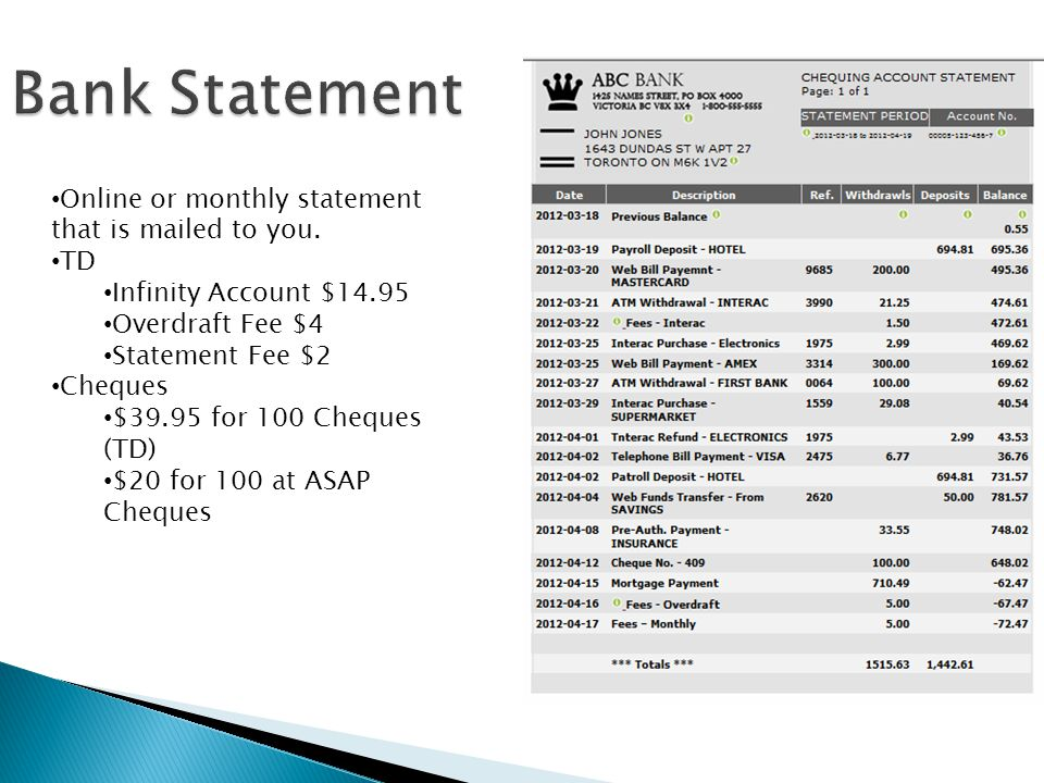 Monthly bank statement idealstalist monthly bank statement fandeluxe Choice Image