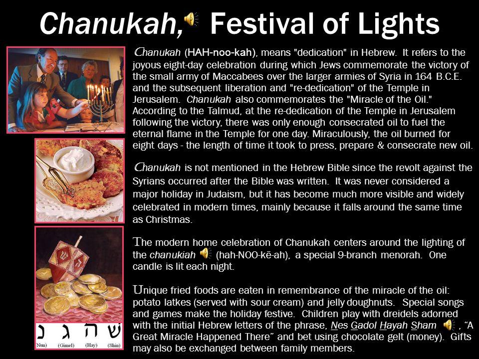 the celebrated major jewish holidays