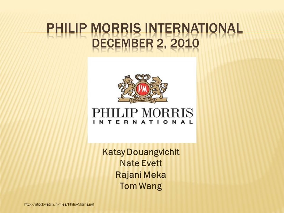 philip morris swot Smokeless tobacco tobacco quitting-aids growing markets in developing countries forming a strategic alliance with local corporations in foreign markets opportunities.